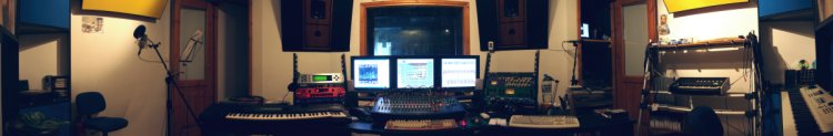 kymatasound control room panorama, roll mouse around and click on hot spots