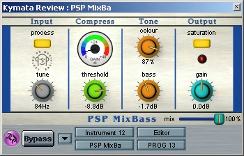 PSP MixBass plugin