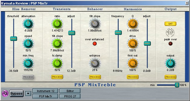 PSP Mix Treble plugin