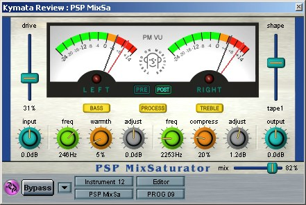 PSP Mix saturator plugin
